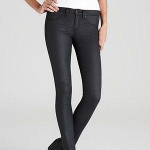 Rag & Bone Shoreditch Gray Leggings Skinny Jeans